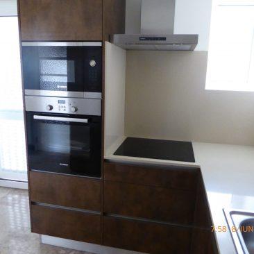 Pormenor da cozinha e equipamentos