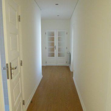 Corredor principal do apartamento