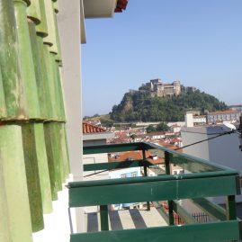 Vista sobre a cidade e Castelo de Leiria