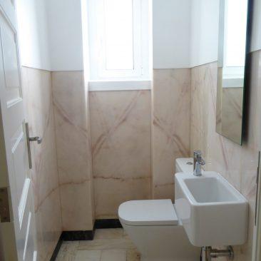Pormenor WC de serviço